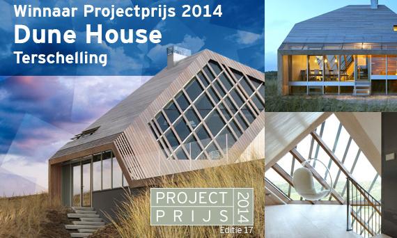 Dune House winnaar Reynaers Projectprijs